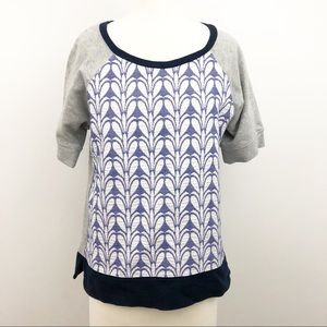 J. Crew Short Sleeve Top Size Small